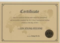 2013.5.23 Ultra-Z 黃金脂雕超音波溶脂手術認證
