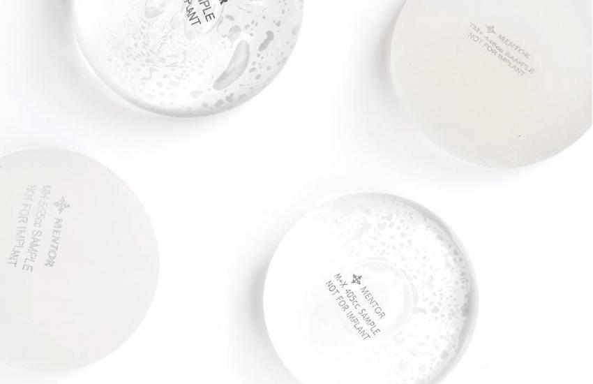 MENTOR曼陀 圓盤型矽膠義乳